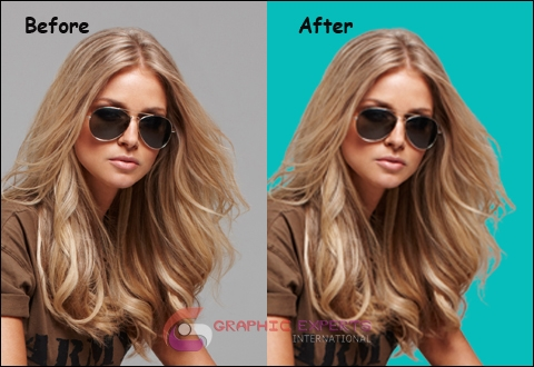 Hair Masking Pictures Sample Job