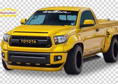 Vehicle on Transparent Background Image