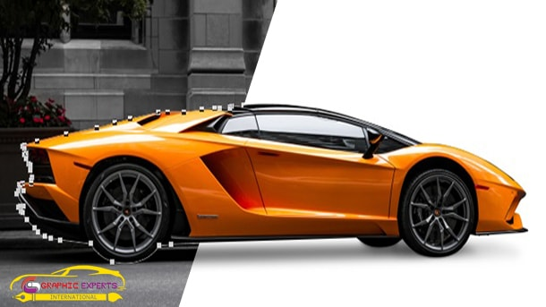 Vehicles Clipping  Path Sample