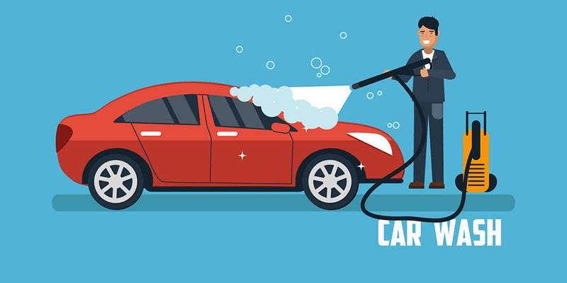 Free Wash Service for automotive marketing
