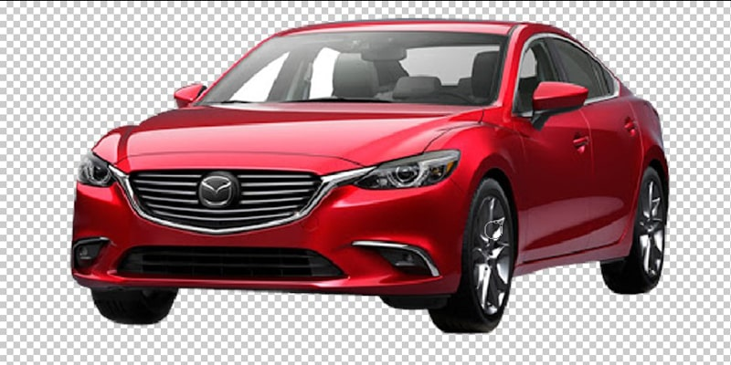 Car Image Transparent Background Making Process