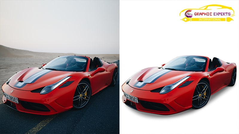 Car Clipping Path Service