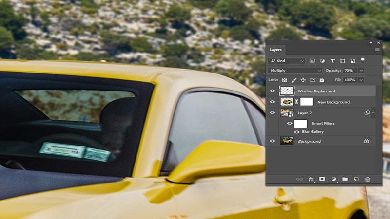 Fix Hard Edges Applying Blur Tool