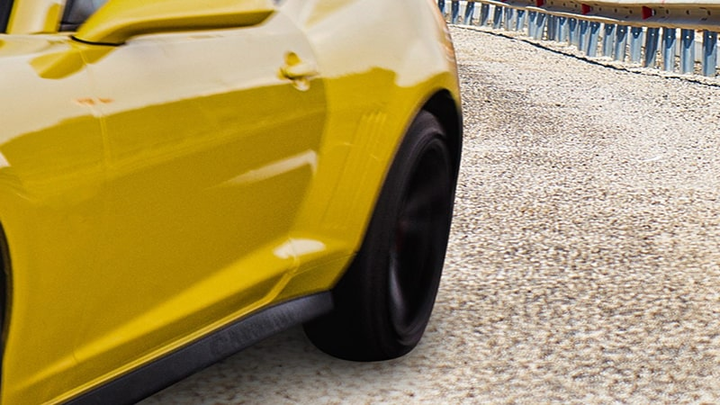 choose a similar angle & balance lighting for car photos