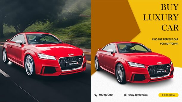 Car Image in Banner Ads