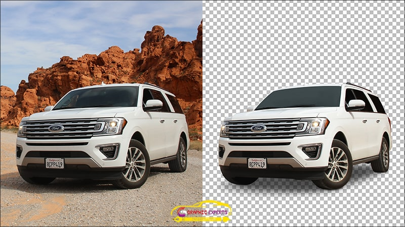 Car Background removal services