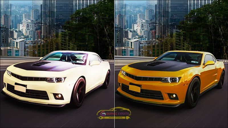 Color Correction Car Images
