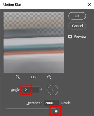 Fix the angle for motion Blur effects
