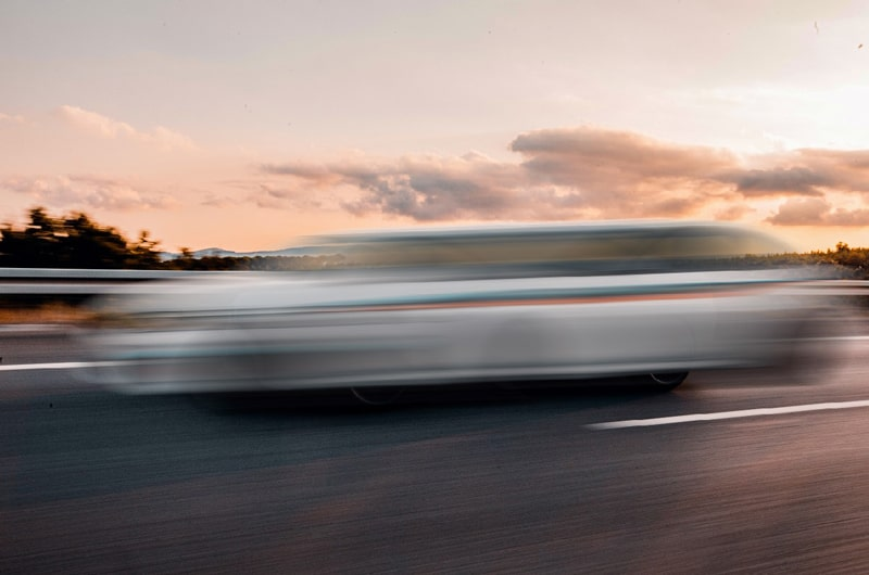 Moving Car Motion Blur Effects