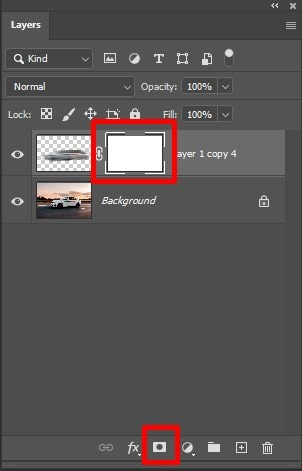 make a layer mask thumbnail