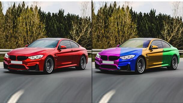 Car Color Change