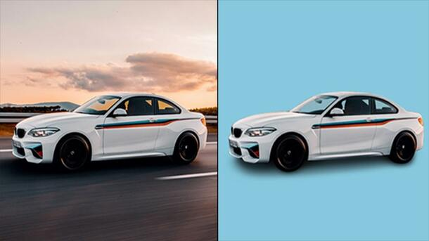 Automobile Image Background Removal