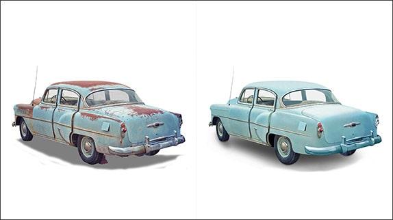 Car Photo Restoration