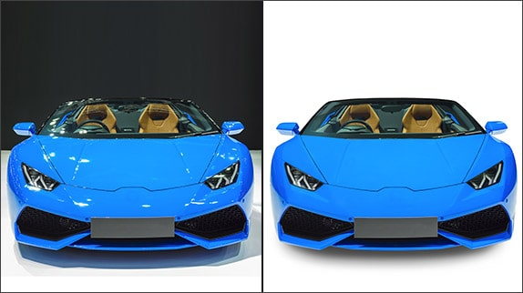 Lighting Improvement on Car Images