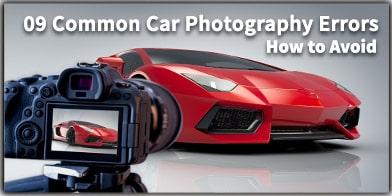 9 Common Car Photography Errors to Avoid